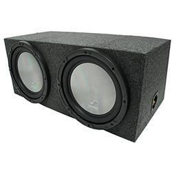 "Universal Car Stereo Rearfire Sealed Dual 10"" Harmony A102 S"