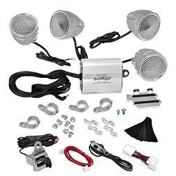 Updated Premium Motorcycle Audio System - 1200 Watts Speaker