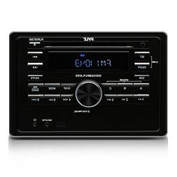 Premium Upgraded Pyle RV Bluetooth Radio, AV Receiver, LCD D