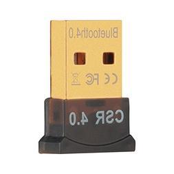 USB Bluetooth Adapter VicTal Plug and Play CRS 4.0 Micro Blu