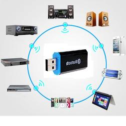 USB Bluetooth Receiver Aux 3.5mm Audio Music Receiver Adapte