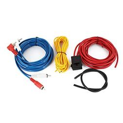 uxcell Auto Car Audio System Speaker Amplifier RCA Wiring Ca