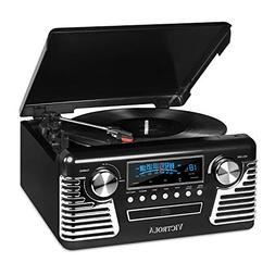 it.innovative technology Victrola 50's Retro 3-Speed Bluetoo