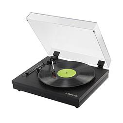 Archeer Vintage Bluetooth Vinyl Turntable Record Player Buil