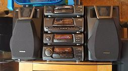 VINTAGE TECHNICS MINI HIFI STEREO SYSTEM SA-EH50 / TUNER AMP