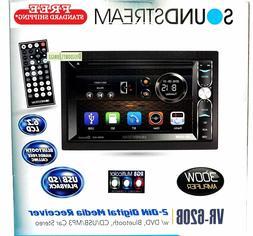 Soundstream VR-620B 2-Din Touchscreen DV