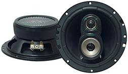 "Upgraded VX 6.5"" Pair 3-Way Speaker - Powerful 180 Watts P"