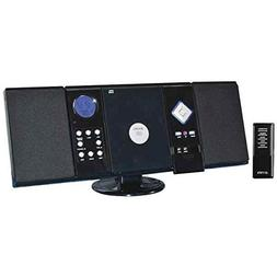 Wall-Mountable CD System with AM/FM Stereo Receiver