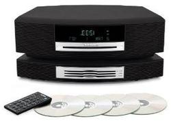 Wave Music System III with Multi-CD Changer - Titanium Silve
