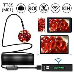 WiFi Endoscope, Shopline 1200P HD Wireless Inspection Endos