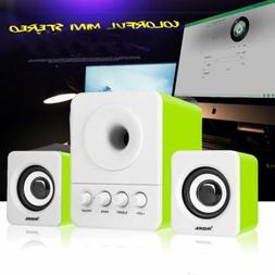 SADA Wired Bookshelf Stereo Speaker and Subwoofer Speaker Co