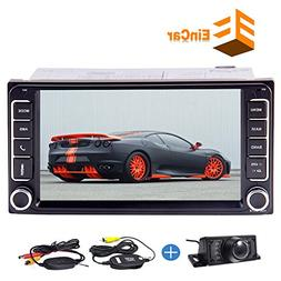 Free wireless Backup Camera + 7 Inch Wince Double 2 Din In D