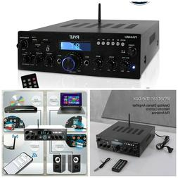 Wireless Bluetooth Amplifier System 200W Dual Channel Sound