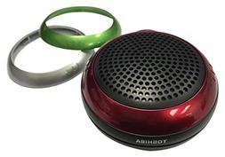 Toshiba Wireless Bluetooth Speaker: Indoor Outdoor Water Res