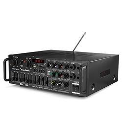 Sunbuck Wireless Bluetooth Stereo Receiver Amplifier - 2 Cha