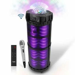 Outdoor Wireless Boombox Stereo System - 800W Portable Bluet