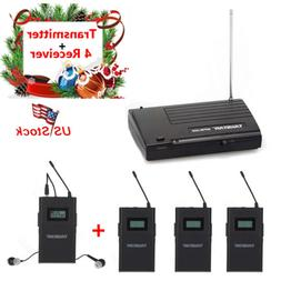 wireless in ear monitor system uhf stereo
