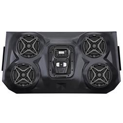 SSV Works WP-RZF3O4 Overhead 4 Speaker Amplified Weatherproo