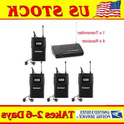 WPM-200 In-Ear Stereo Stage Wireless Monitor System 1 Transm