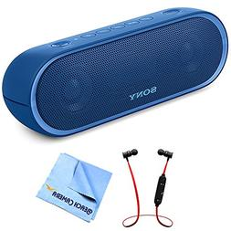 Sony XB20 Portable Wireless Speaker with Bluetooth Blue 2017